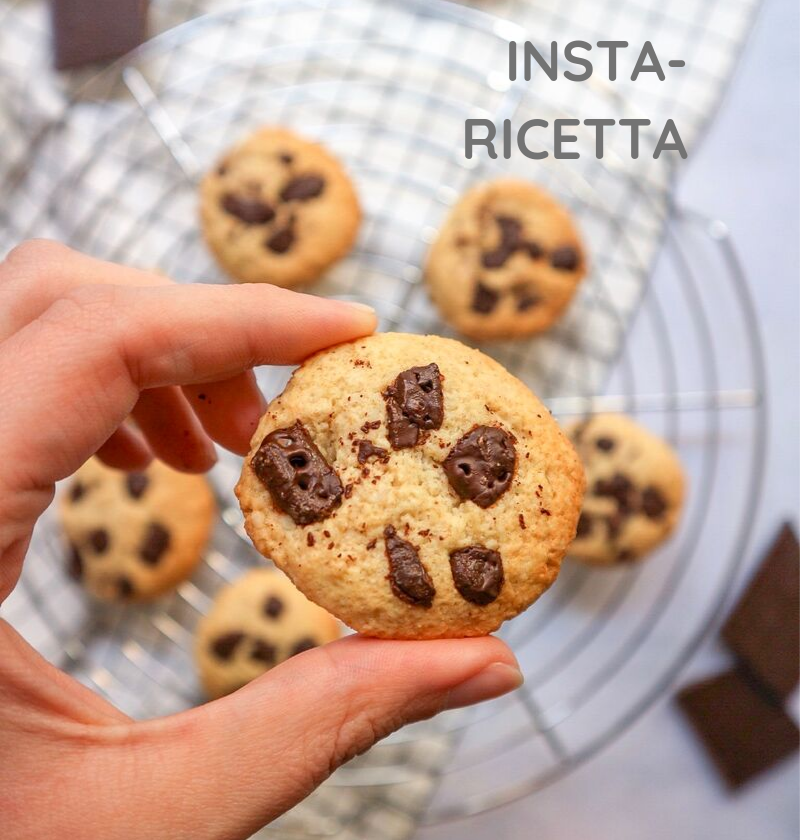 Cookies low carb, senza glutine