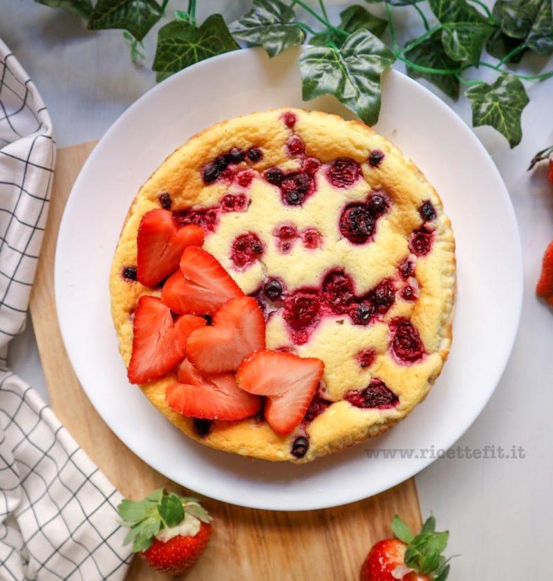cheesecake low carb senza biscotti burro light facile veloce zucchero marica mandarina esposito 3