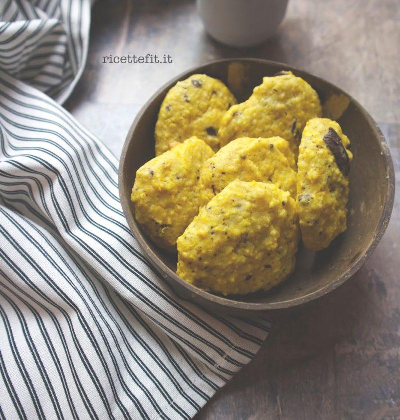 Biscotti alla zucca con cioccolato light senza zucchero glutine lattosio uova di LA VIE EST FIT
