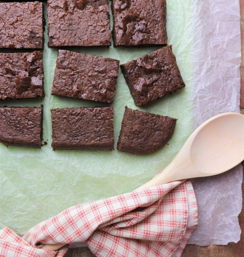 Brownies light senza glutine farina zucchero lattosio di LA VIE EST FIT