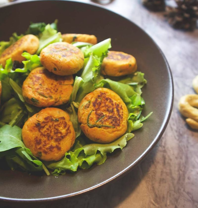 Burger polpette di zucca e tonno light senza glutine low carb di LA VIE EST FIT