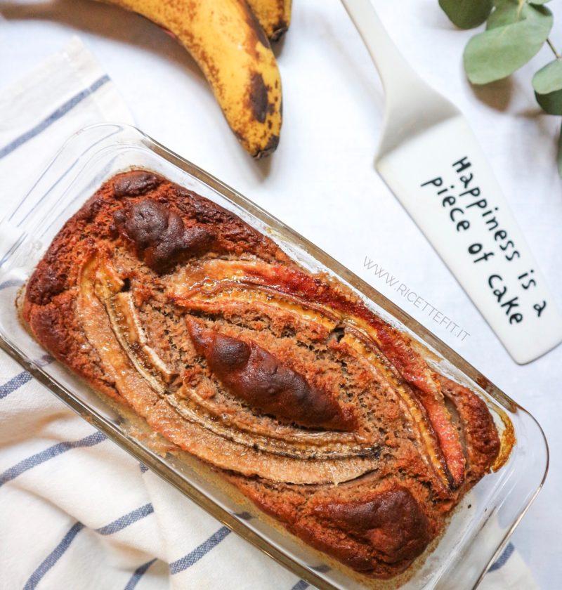 banana bread senza glutine lattosio vegan uova grassi light di LA VIE EST FIT