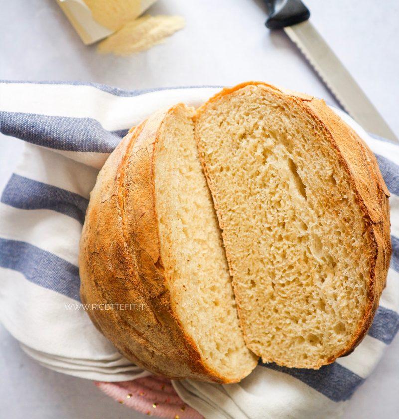 Pane senza impasto furbo e veloce, alta idratazione facilissimo di LA VIE EST FIT