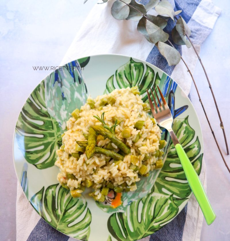 Risotto light asparagi senza lattosio di LA VIE EST FIT