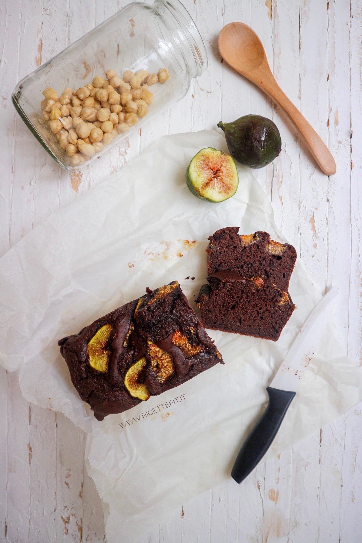 Plumcake proteico cacao e fichi senza zucchero lattosio con lupini di LA VIE EST FIT