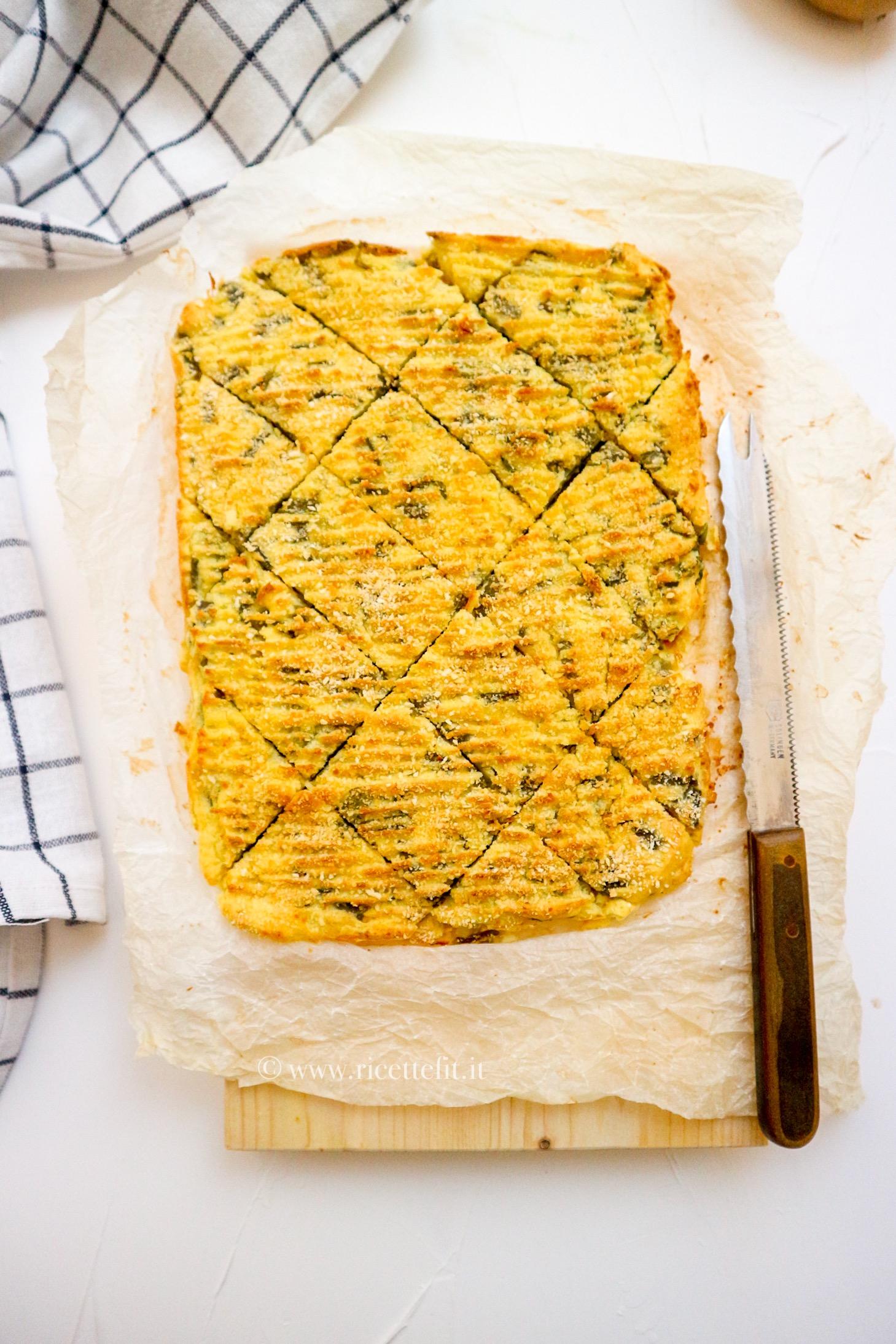 Polpettone patate e fagiolini ligure light senza lattosio facile e veloce di LA VIE EST FIT