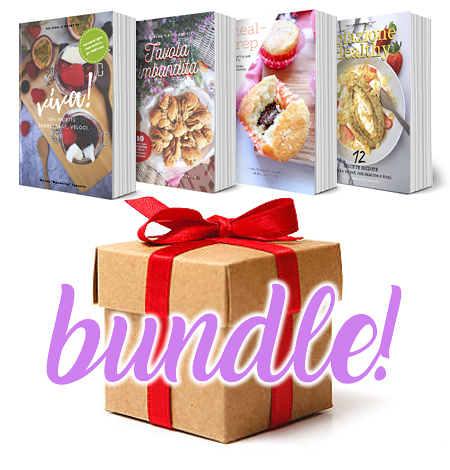 Bundle di 4 Ebook a prezzo speciale da marica mandarina! Ricette Fit, Vegan, Light da Mandarinacucina.it